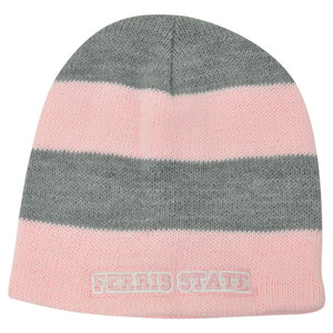 NCAA American Needle Women Ladies Ferris State Bulldogs Cuffless Knit Hat Pink