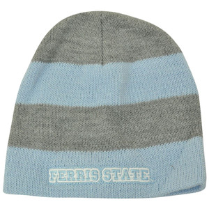 NCAA American Needle Women Ladies Ferris State Bulldogs Cuffless Knit Hat Blue