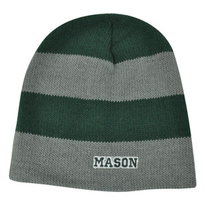 NCAA American Needle Women Ladies George Mason Patriots Cuffless Knit Green Hat