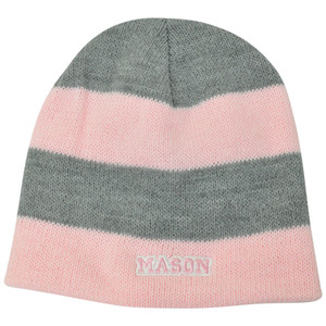 NCAA American Needle Women Ladies George Mason Patriots Cuffless Knit Light Pink
