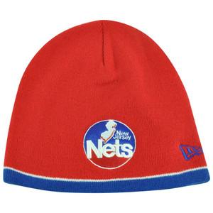 NBA New Era HWC New Jersey Nets Cuffless Performance Toque Knit Beanie Skully
