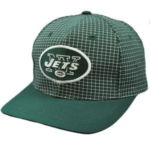 NFL New York Jets Vintage Retro Deadstock Snapback Twins Green White Hat Cap
