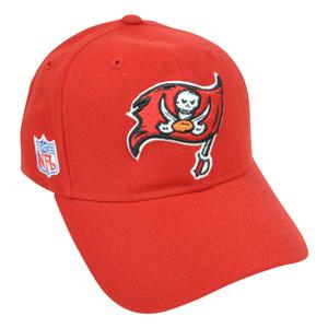 NFL Tampa Bay Buccaneers Reebok Velcro Curved Bill Construct Adjustable Hat Cap
