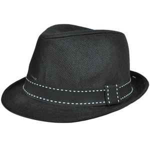 52606ba40a2848 Polyester Fedora Stetson Mesh Hat Ribbon Trilby Band Small Medium FD-160  Black
