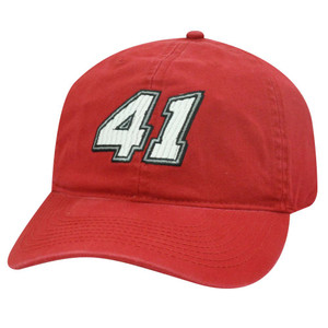 REED SORENSON 41 RED PIT CAP HAT CHASE NEW NASCAR ADJ