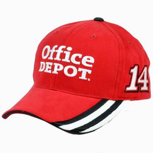 Nascar Tony Stewart  14 Office Depot Constructed Adjustable Velcro Race Hat  Cap 303132272149