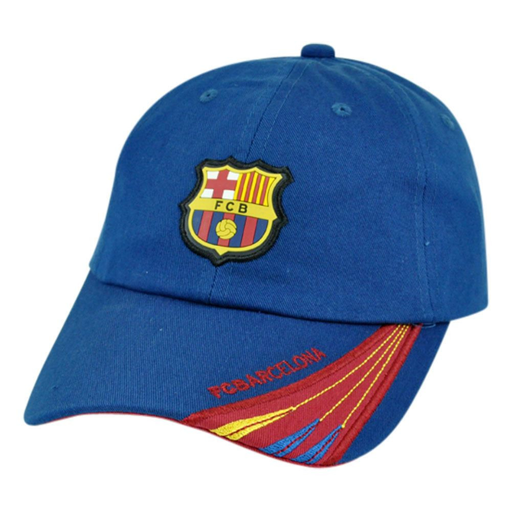 Barca Spain Espana Barcelona FCB Shield Soccer Clip Buckle Gorra Hat ... 3d04ed55d07