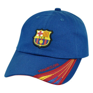 Barca Spain Espana Barcelona FCB Shield Soccer Clip Buckle Gorra Hat Cap Futbol