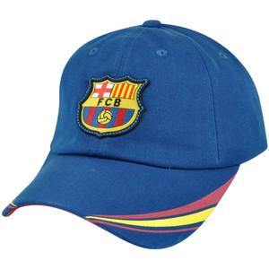 Barca FC Barcelona Spain Espana La Liga Garment Wash Futbol Soccer Gorra Hat Cap