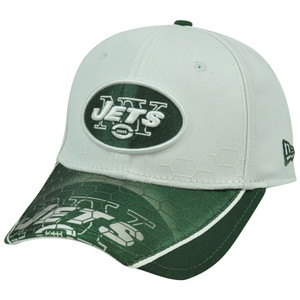 New Era 39Thirty 3930 NFL New York Jets Hybrid Hex Hat Cap Stretch Flex Fit L/XL