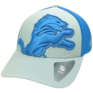 NFL New Era 39Thirty 3930 Gradation Detroit Lions Flex Fit M L Hat Cap 94311d232