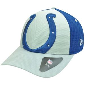 492ae78858f NFL New Era 39Thirty 3930 Gradation Indianapolis Colts Flex Fit S M Hat Cap