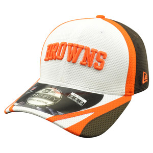 NFL New Era 39Thirty Cleveland Browns 2014 Official Field Training Flex Fit S/M