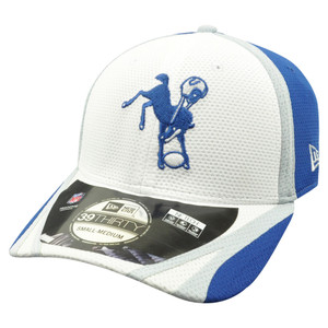 4dd9c5c52 NFL New Era 39Thirty 3930 Indianapolis Colts 2014 Official Training Flex Fit  S/M