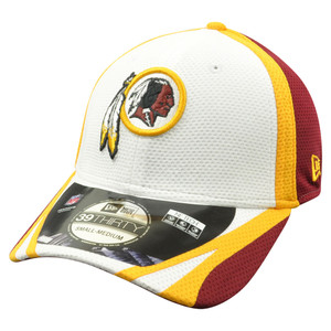 online store 6c351 f056b NFL New Era 39Thirty Washington Redskins 2014 Official Training Flex Fit S M