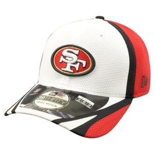 NFL New Era 39Thirty San Francisco 49ers 2014 Official Training Flex Fit S/M