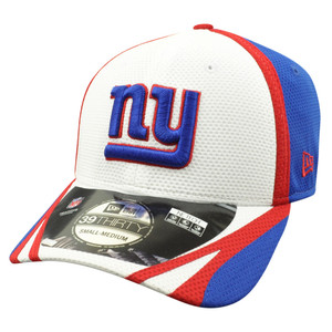 2f52af62c88768 NFL New Era 39Thirty New York Giants 2014 Official Field Training Flex Fit  S/M