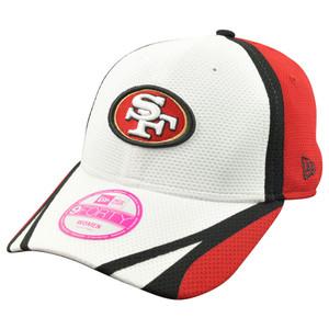 NFL New Era 9Forty San Francisco 49ers Women Ladies On Field Training Hat Cap