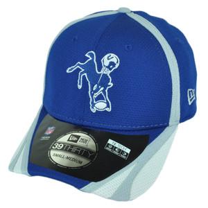 NFL New Era 3930 Indianapolis Colts 2014 Team Color Training Flex S M Hat  Cap dec027ae3