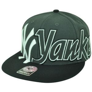 MLB '47 Brand New York Yank Yankees Big Time Flat Bill Snapback Baseball Hat Cap