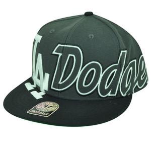 MLB '47 Brand Los Angeles Dodgers Big Time Flat Bill Snapback Baseball Hat Cap