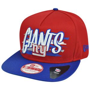 New Era 9Fifty 950 NFL New York Giants NE Pinna Snapback Hat Cap A Frame S/M
