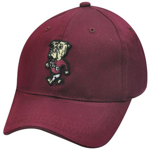 NCAA MISSISSIPPI BULLDOGS MAROON NEW HAT TODDLER KIDS