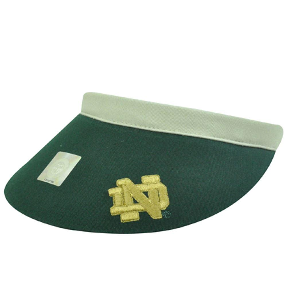 f44890f9d59 NCAA NOTRE DAME FIGHTING IRISH CLIP VISOR TENNIS HAT - Cap Store Online