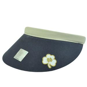 NCAA NOTRE DAME FIGHTING IRISH CLIP VISOR HAT CLOVER