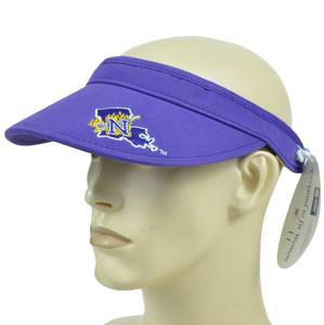 NCAA Northwestern State Demons Coil Visor Hat Adjustable Curved Bill Licensed