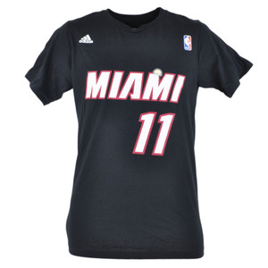 NBA Adidas Miami Heat Chris Birdman Anderson 11 Player Tshirt Team Tee