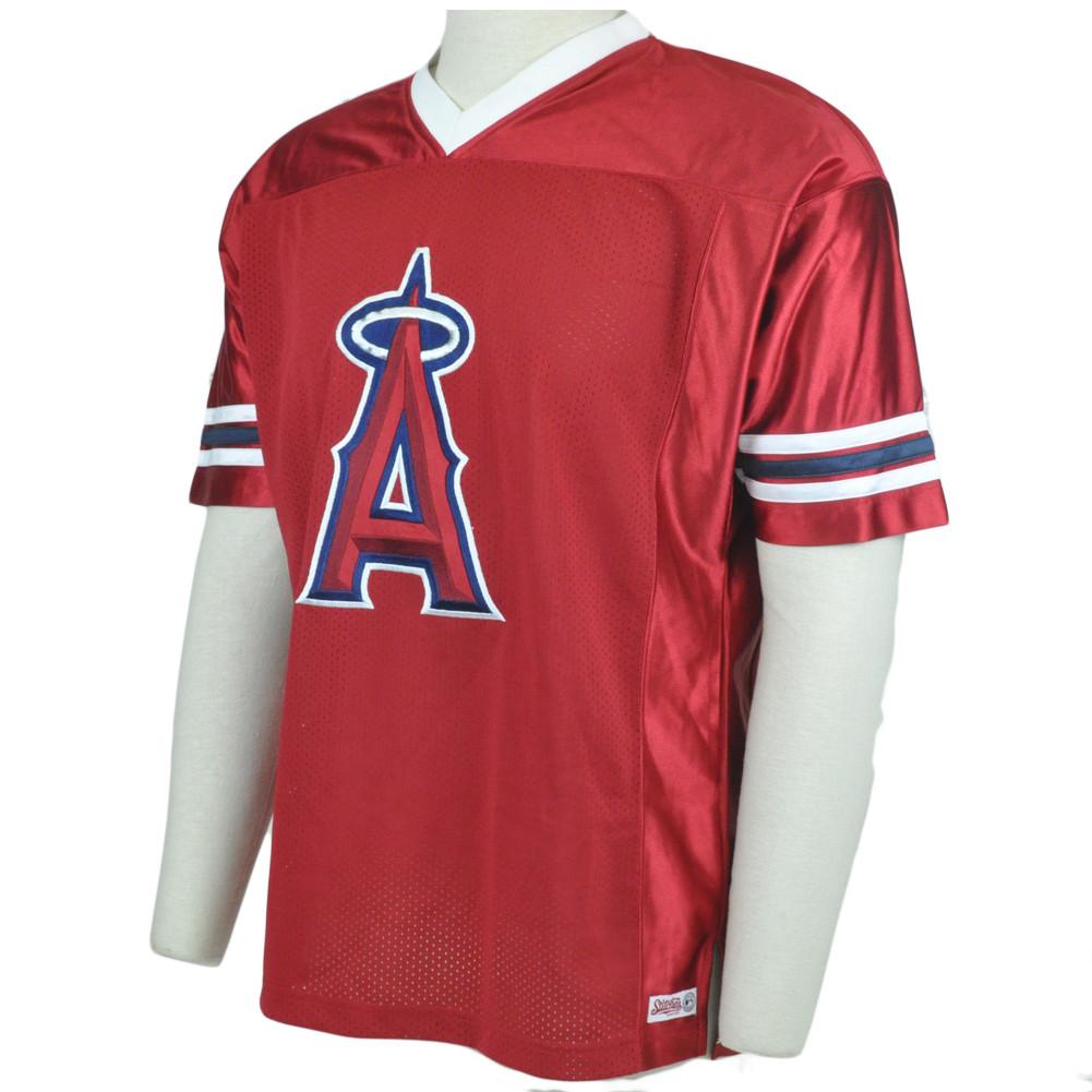 6c0fdb826 MLB LA Los Angeles Angels Stitches Licensed Lightweight Baseball ...