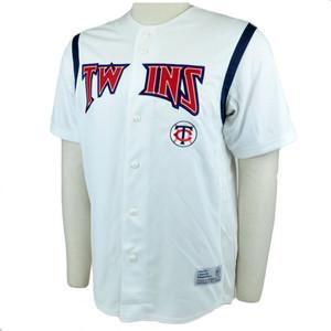 MLB Minnesota Twins Baseball Team Jersey Shirt True Fan Star Licensed