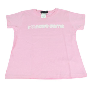 NCAA I Heart Notre Dame Fighting Irish Pink Adidas Youth Girls Shirt Tshirt Tee