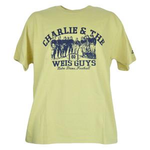 NCAA Charlie & The Weis Guys Notre Dame Fighting Irish Adidas Mens Shirt Tshirt