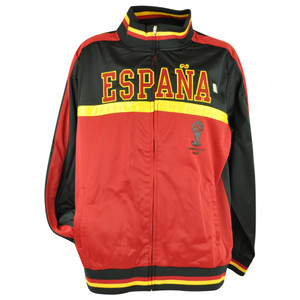 FIFA World Cup 2014 Espana Spain Track Jacket Zip Up Sweater Soccer Futbol