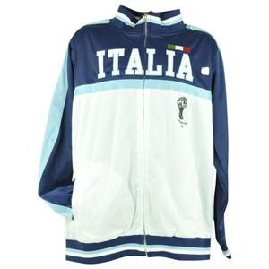 FIFA World Cup 2014 Italia Italy Track Jacket Zip Up Sweater Soccer Futbol