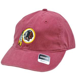 NFL Washington Redskins Maroon Red Relaxed Womens Ladies Heart Cap Hat Reebok