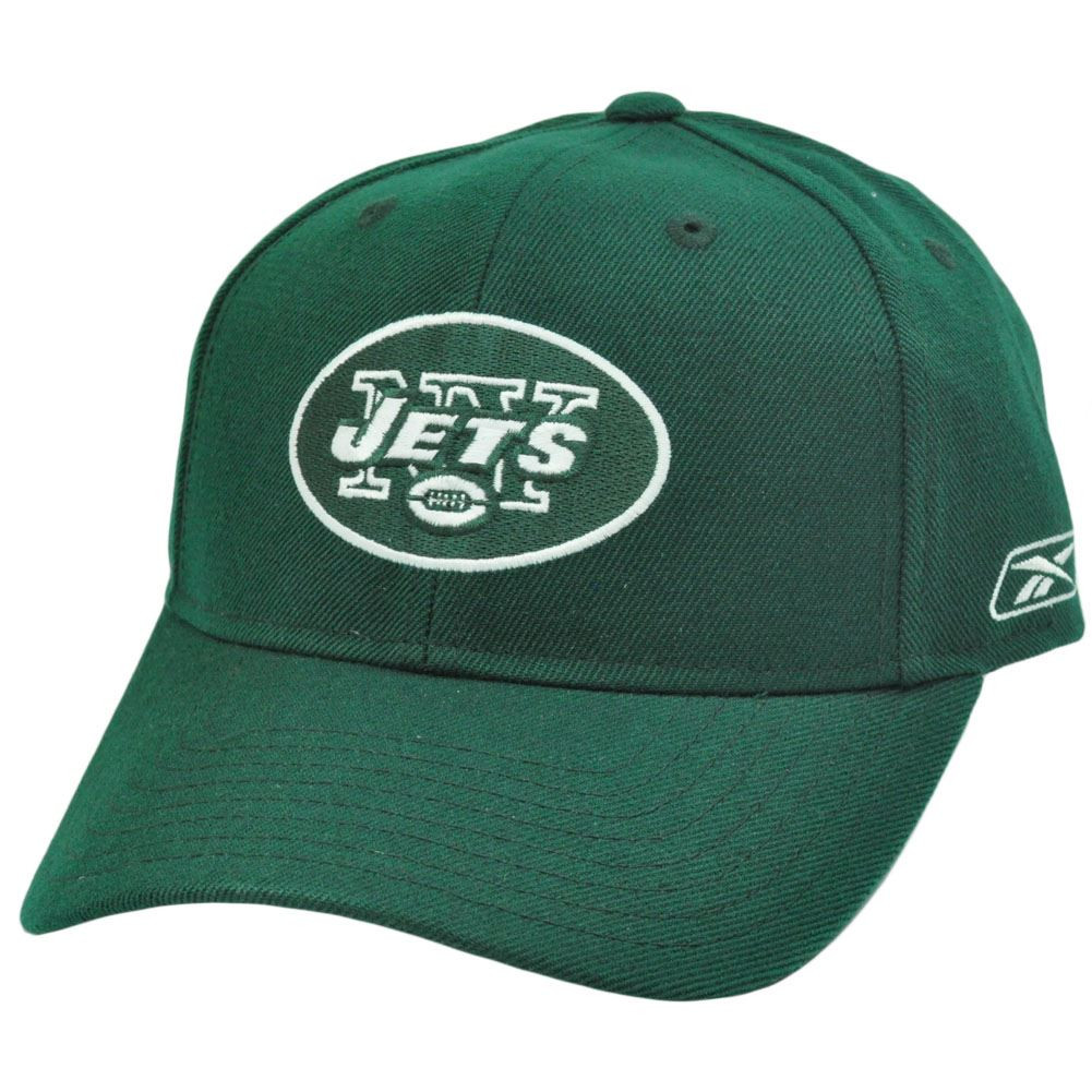 Wholesale NFL Reebok Rbk NY New York Jets Flex Fit Dark Green White  for cheap