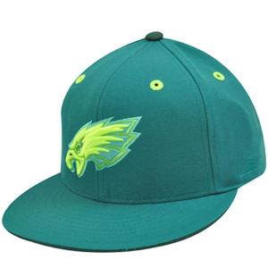 PHILADELPHIA EAGLES FLAT BILL GREEN HAT CAP FIT 7 7/8
