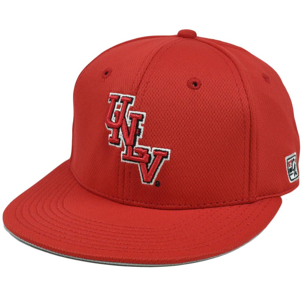 721ed00cd4d Hat Cap UNLV Nevada Las Vegas Runnin Rebels Red Flat Bill Polyester ...