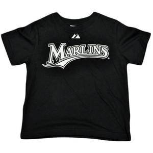 MLB Florida Miami Marlin Hanley Ramirez 2 Tshirt Infant Babies Boy Tee Black