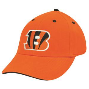 NFL CINCINNATI BENGALS ORANGE COTTON VELCRO HAT CAP