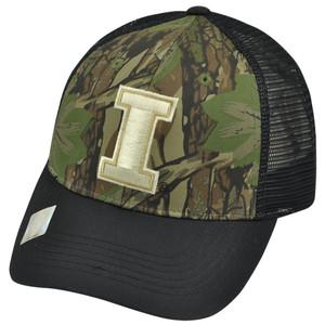 NCAA Illinois Fighting Illini Freshman Trucker Camouflage Mesh Snapback Hat Cap