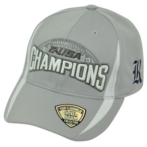 NCAA Rice Owls 2013 C-USA Football Champions Velcro Top of the World Hat Cap