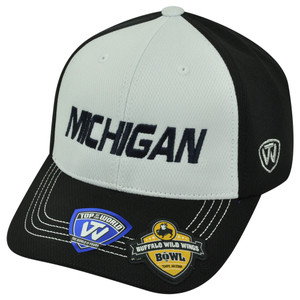 NCAA Michigan Wolverines 2013 Buffalo Wild Wings Bowl Velcro Two Tone Hat Cap