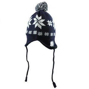 NCAA Notre Dame Fighting Irish Nordic Laplander Pom Knit Beanie Winter Hat Toque