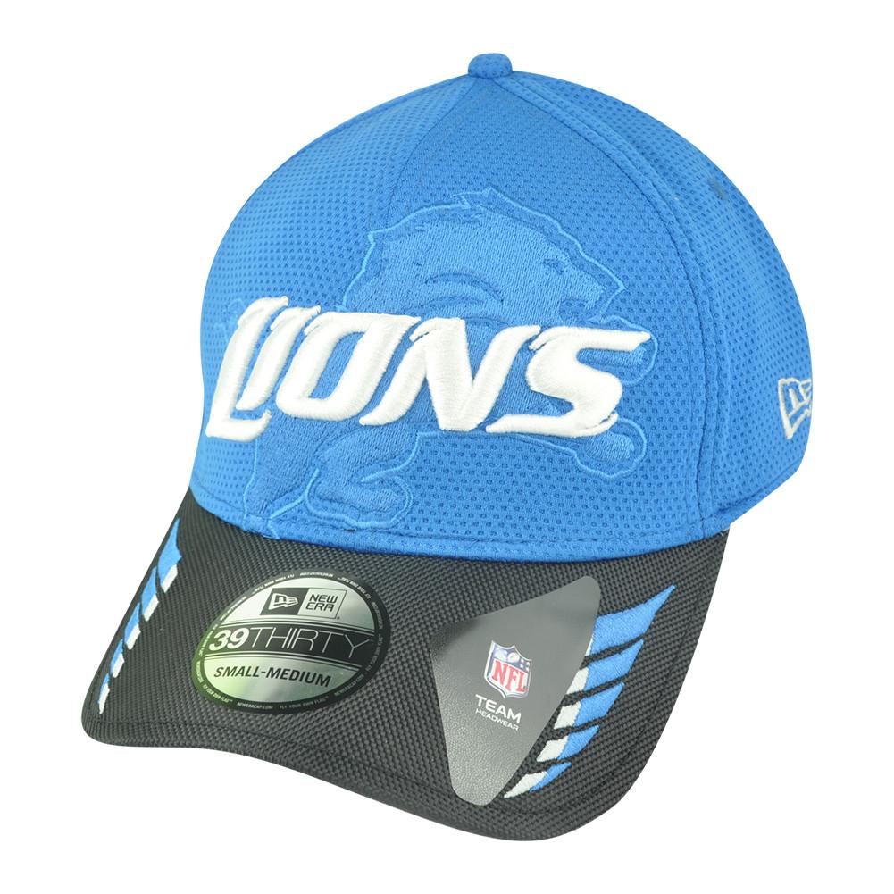 NFL New Era 39Thirty 3930 Detroit Lions Ballizzle Flex Fit L XL ... 70004229c