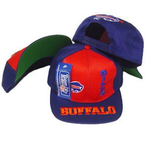 NFL BUFFALO BILLS FLAT BILL SNAP BACK OLD SCHOOL HAT