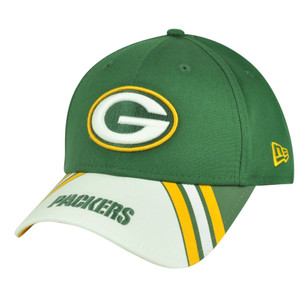 NFL New Era 9Forty 940 Classic Green Bay Packers Jersey Play Adjustable Hat Cap
